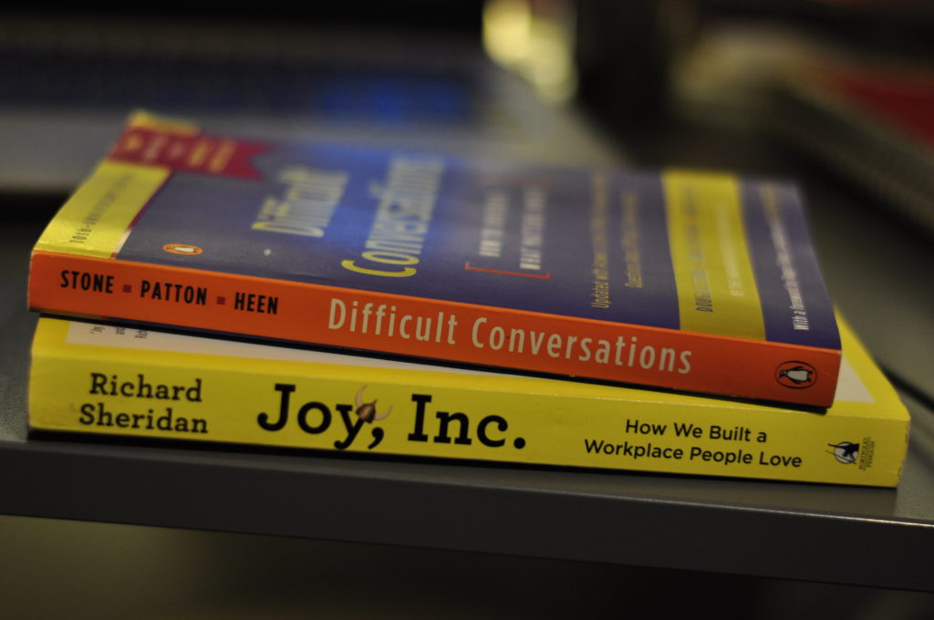 Picture of two stacked books